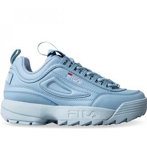 NEW baby blue Fila sneakers size 7